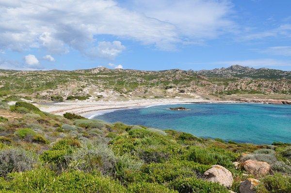 Photo de la plage de Stagnolu à Bonifacio