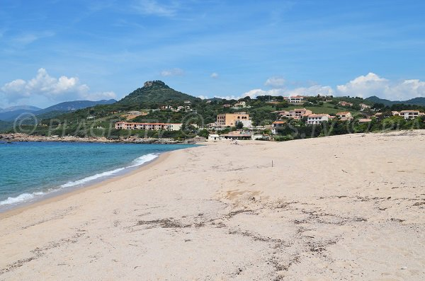 Hotels and campsites on the Stagnone beach - Corsica