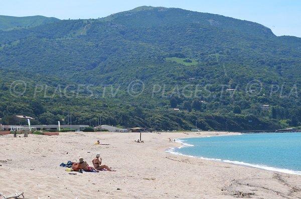 Wild beach in north of Ajaccio - Stagnone (Calcatoggio)