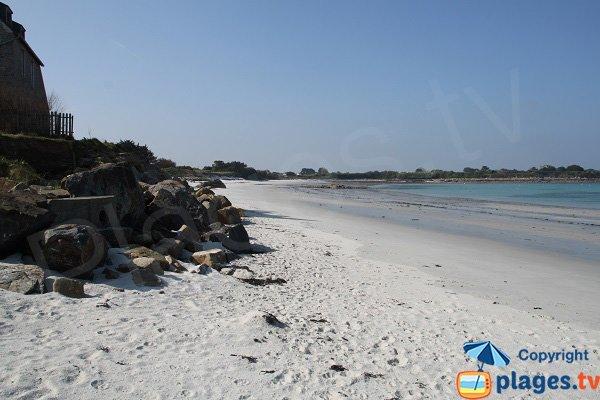 Wild beach of Santec - Staol