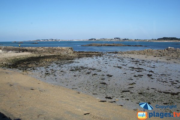 biological station beach of Roscoff