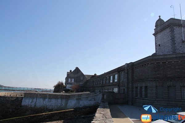 Old aquarium of Roscoff