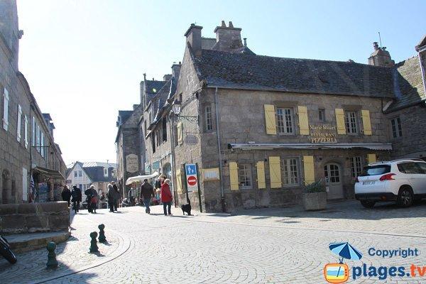 Old city of Roscoff