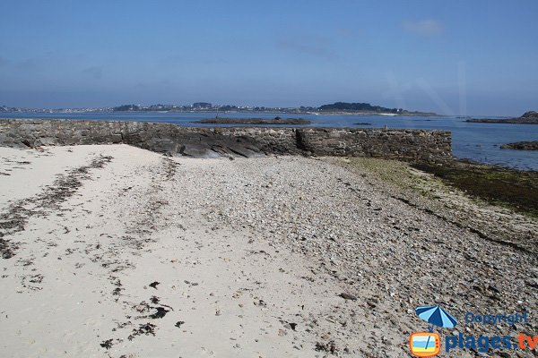 Photo of biological station cove of Roscoff