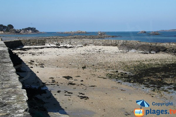 Beach downtown - Roscoff