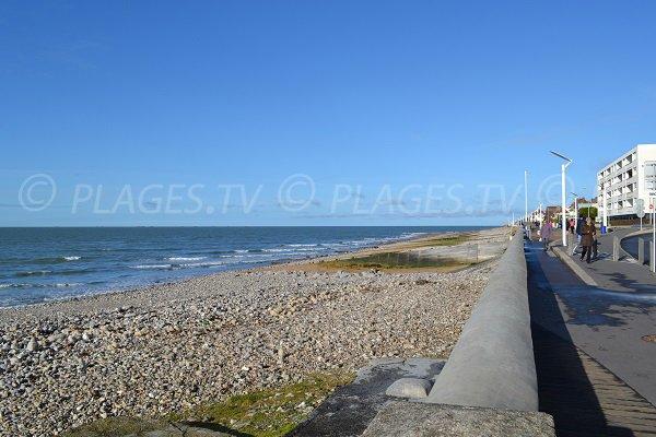 Beach in Sainte Adresse - Normandy - France