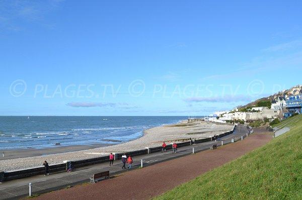 Photo of Sainte Adresse beach - France