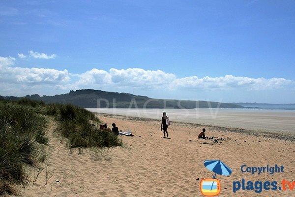 plage de Ste Anne La Palud à Plonévez-Porzay