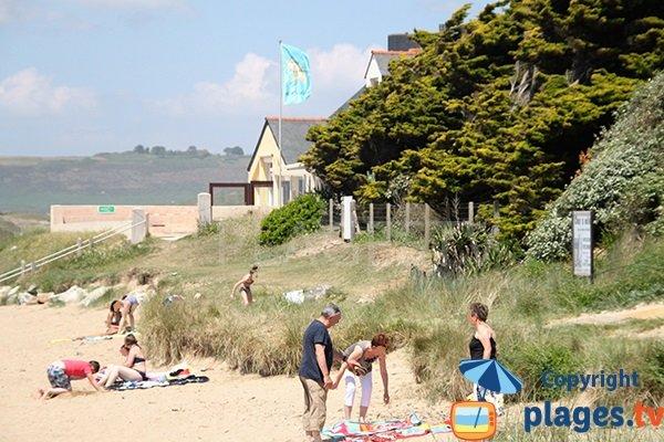 Abord de la plage de Sainte Anne La Palud - Bretagne