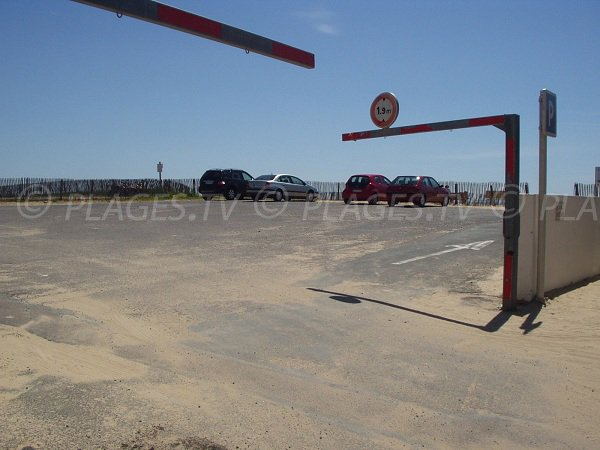 Parking de Ste Anne à La Tranche