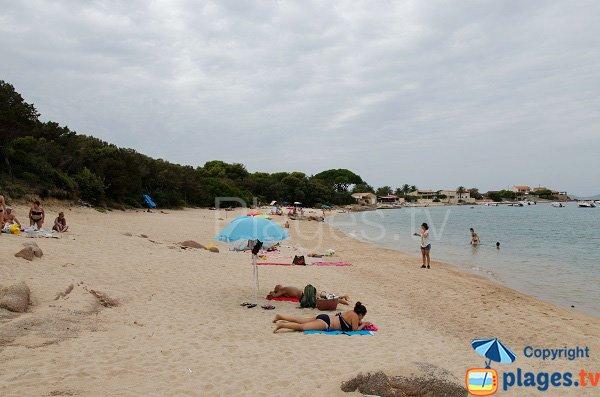 Plage après le port de Ste Barbes - Isolella