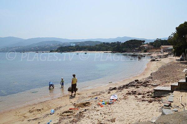 Photo of Ste Barbe beach in Isolella (Pietrosella)