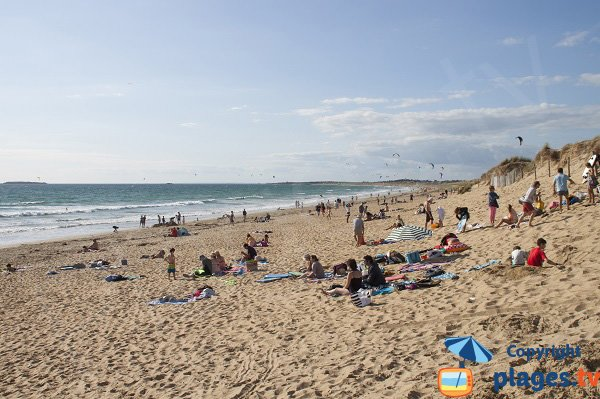 Photo of Sainte Barbe beach in Plouharnel - France