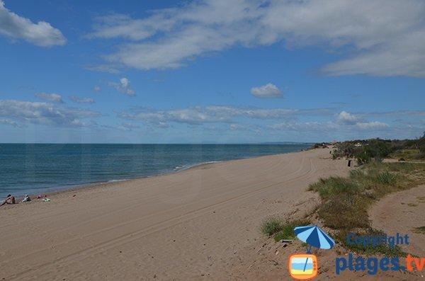 Photo de la plage de Sainte Genevieve à Vias