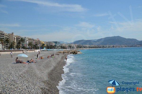 Galets de la plage de Nice