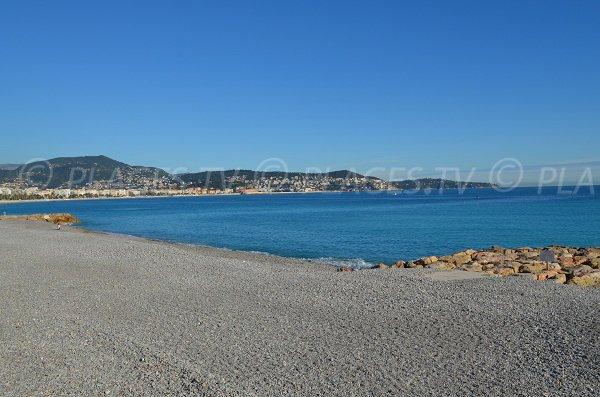 Plage de Ste Hélène à Nice