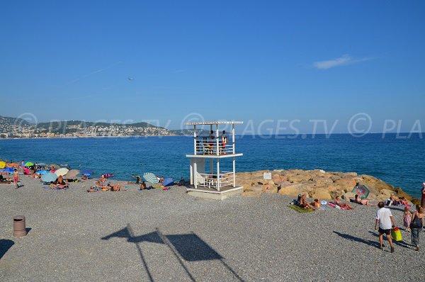 Poste de surveillance de la plage de Ste Hélène de Nice