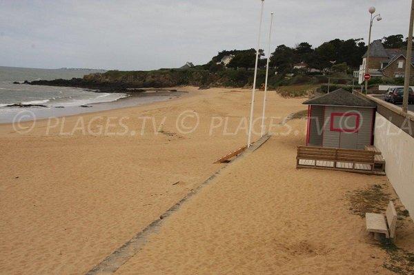 First aid station of Ste Marguerite beach - Pornichet