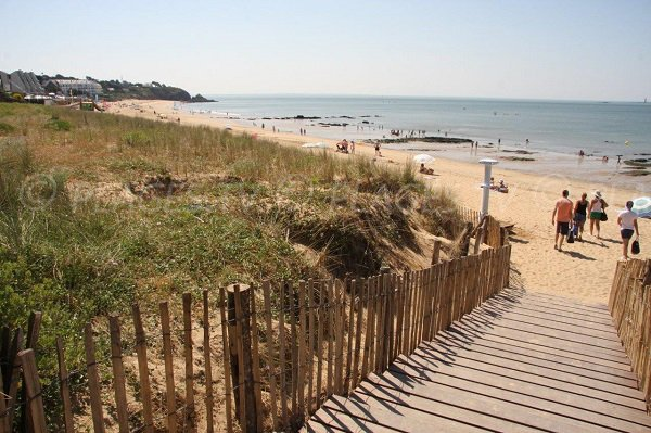 Access to Ste Marguerite beach - Pornichet