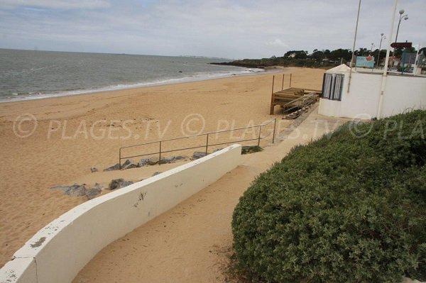 Access to Ste Marguerite beach in Pornichet