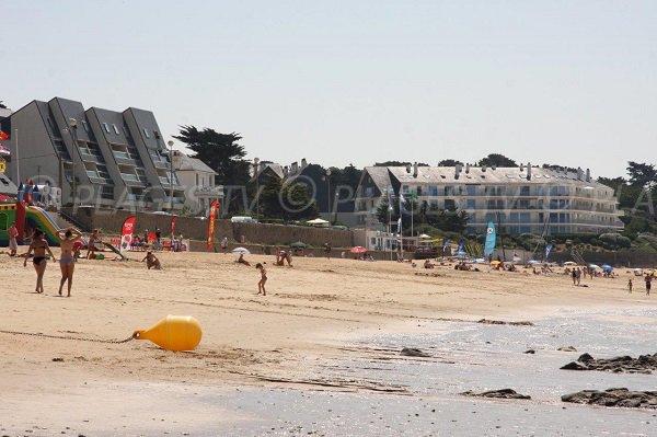 Foto della spiaggia della Sainte Marguerite a Pornichet - Francia