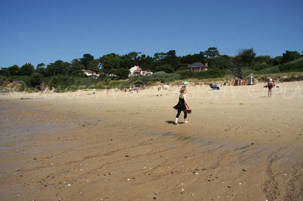 Pornichet and its beach of Sainte Marguerite - France