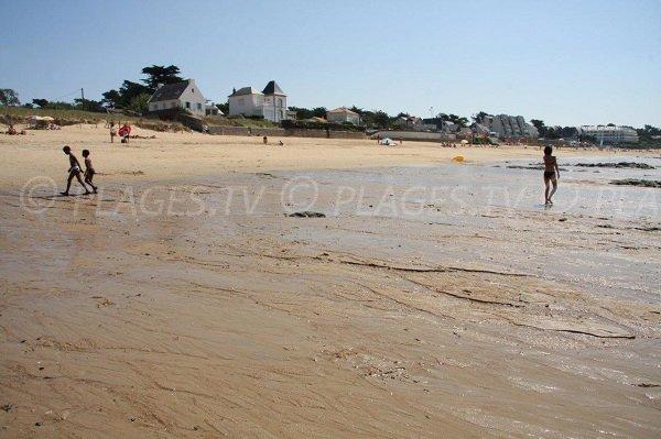 Plage de Ste Marguerite à marée basse - Pornichet