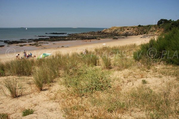 Plage de Pornichet vue depuis la dune - Ste Marguerite