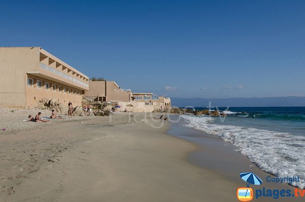 Stella di Mare et sa plage - Ajaccio