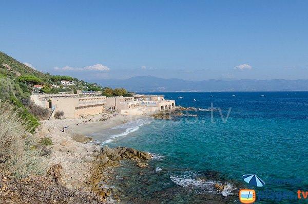 Photo de la plage Stella Di Mare à Ajaccio