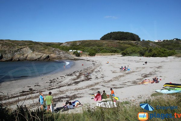 Photo of Ster Vraz beach in Sauzon - Belle Ile