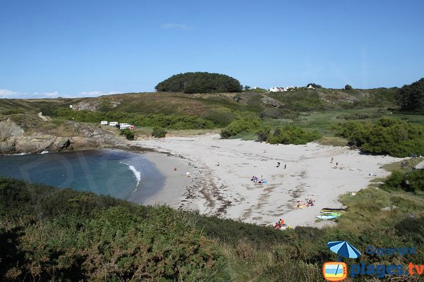 Ster Vraz beach in Sauzon - Belle Ile en Mer