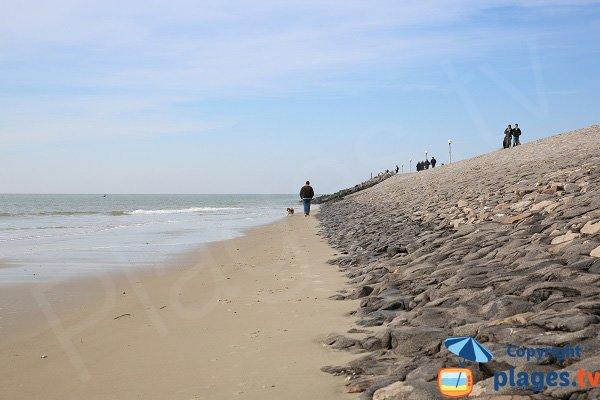 Sternes beach in Berck