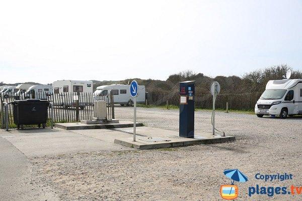 Aire pour les camping-cars à Berck