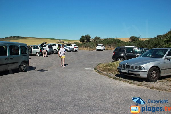 Parking of the Strouanne beach - Wissant
