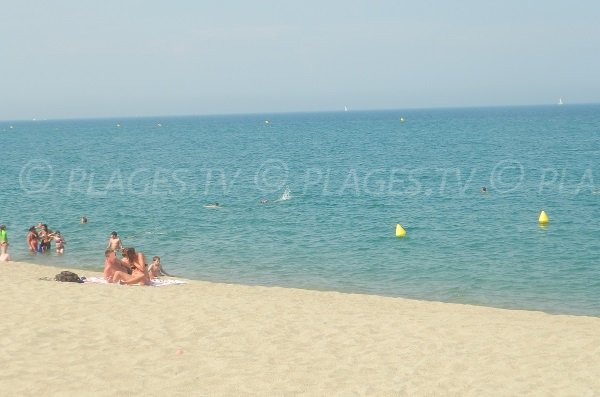 Argelès sur Mer et la plage Sud