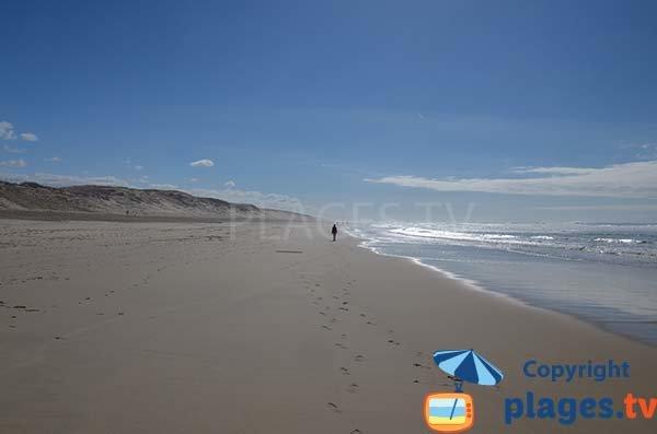 Spiaggia sud di Biscarrosse