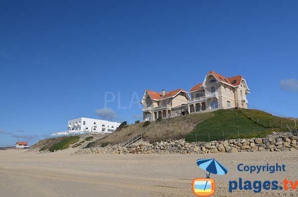 Maisons sur les dunes à Biscarrosse