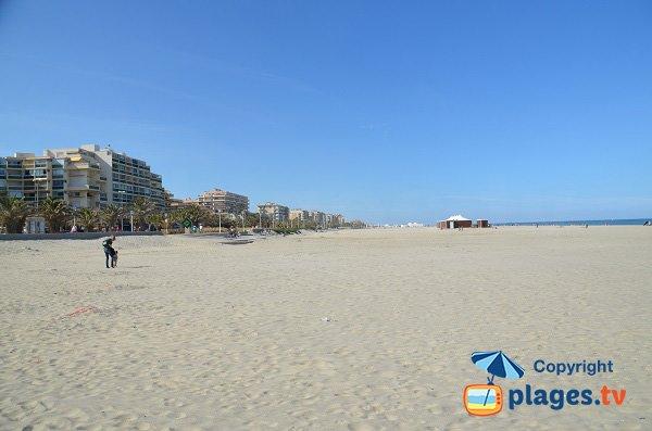 Foto della spiaggia Sud - Canet en Roussillon