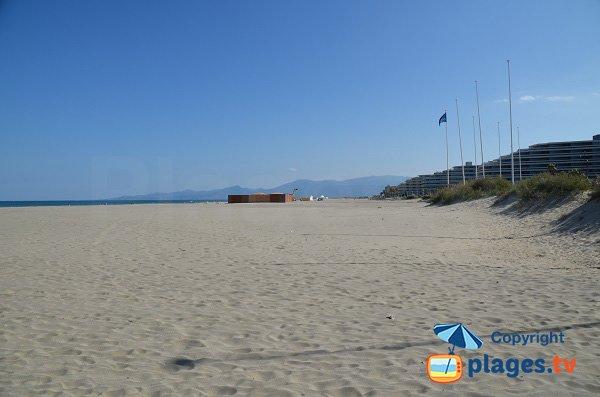 Spiaggia Sud a Canet en Roussillon - Francia