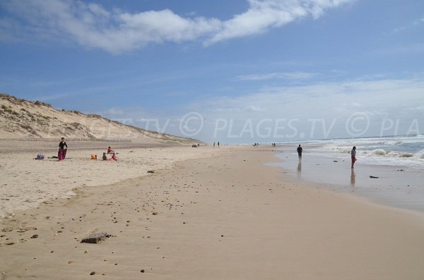 Plage Sud Carcans  33  Gironde Aquitaine