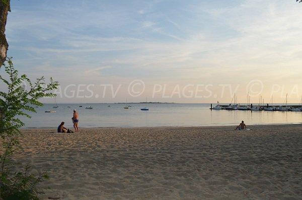 L'île Madame est en face de la plage sud de Fouras