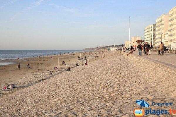 Spiaggia Sud a Hardelot - Francia