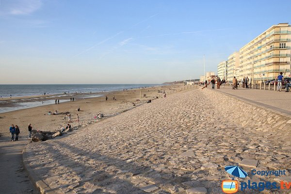 Foto della spiaggia Sud di Hardelot in Francia
