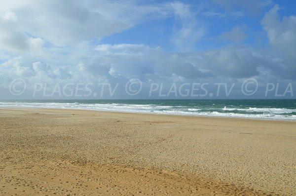 Photo de la plage Sud d'Hossegor