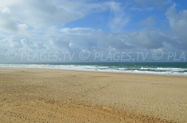 Photo of South beach in Hossegor