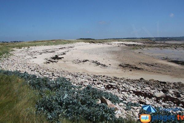 Photo au sud de l'ile d'Aganton à Pleumeur Bodou