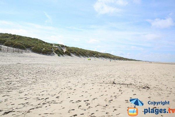 Dunes in Le Touquet - France