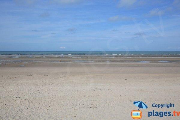 Baignade sur la plage du Touquet