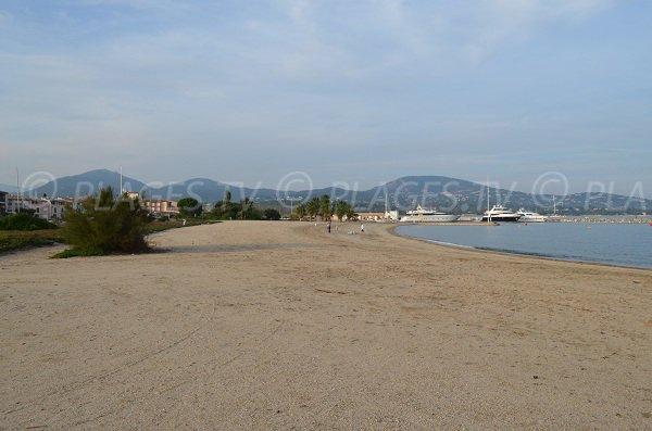Foto della spiaggia Sud di Port Grimaud